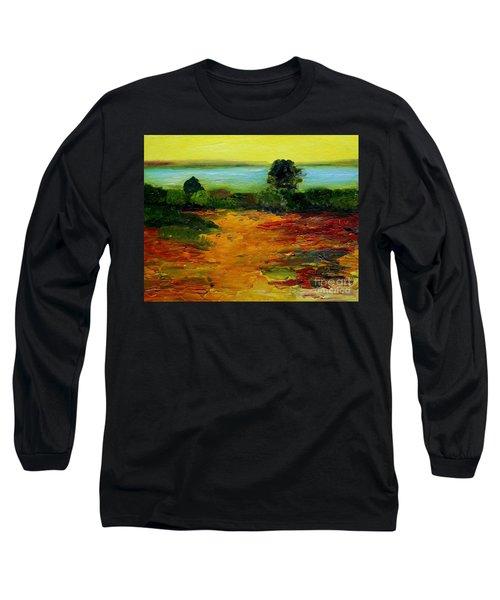 Colorful Prairie Long Sleeve T-Shirt
