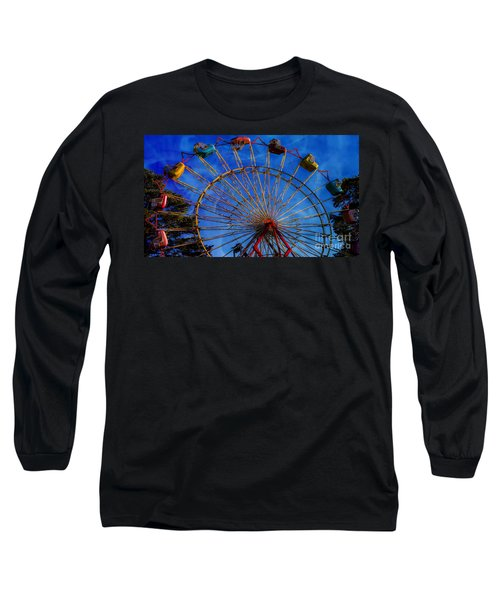 Colorful Ride Long Sleeve T-Shirt by Sherman Perry
