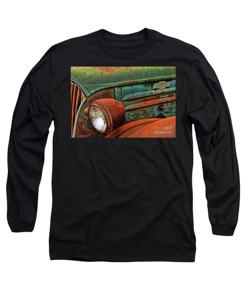 Colorful Rust Long Sleeve T-Shirt