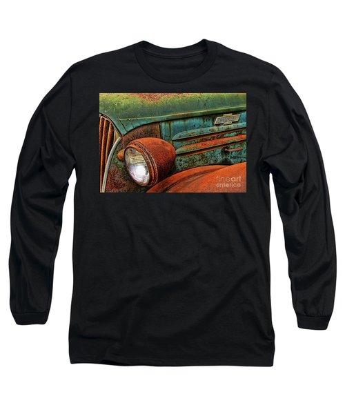 Colorful Rust Long Sleeve T-Shirt