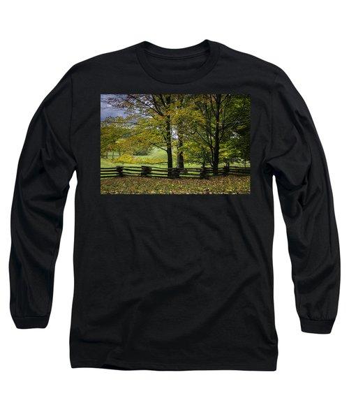 Colors At Mac Rae Field Long Sleeve T-Shirt