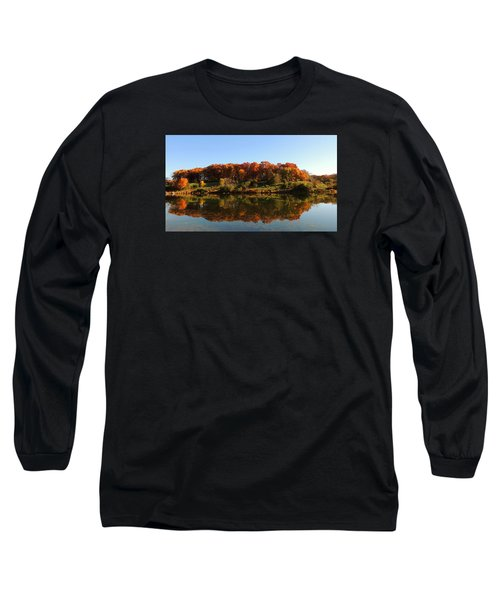 Colors Of Autumn Long Sleeve T-Shirt by Teresa Schomig