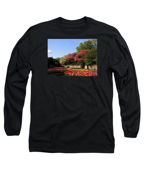 Colors Of May Long Sleeve T-Shirt by Teresa Schomig