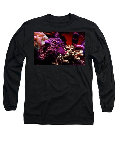 Colors Of Underwater Life Long Sleeve T-Shirt