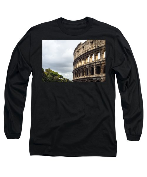 Colosseum Closeup Long Sleeve T-Shirt