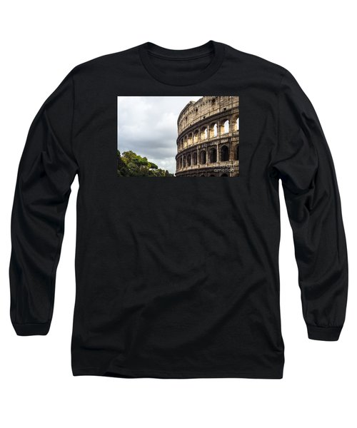 Colosseum Closeup Long Sleeve T-Shirt