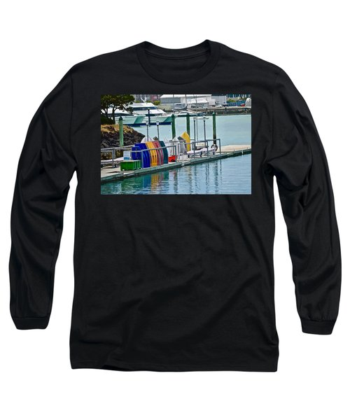 Colourful Dinghies Auckland Long Sleeve T-Shirt
