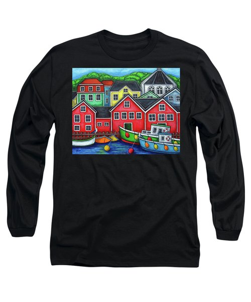 Colours Of Lunenburg Long Sleeve T-Shirt