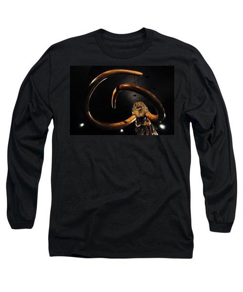 Columbian Mammoth La Brea Tar Pits Long Sleeve T-Shirt