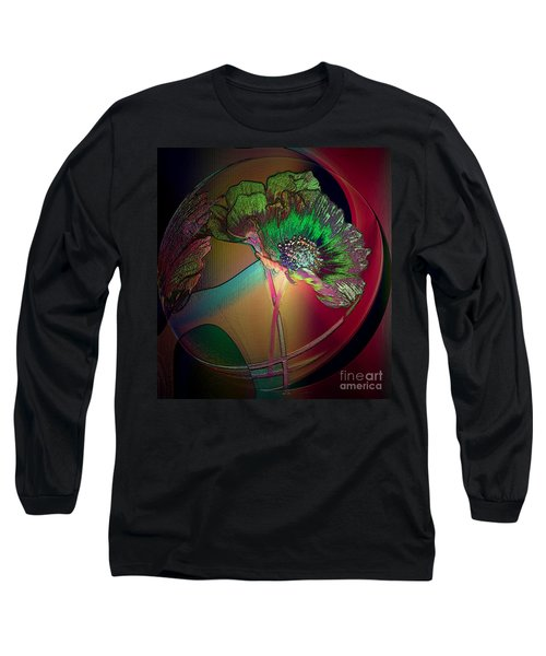 Comely Cosmos Long Sleeve T-Shirt by Irma BACKELANT GALLERIES