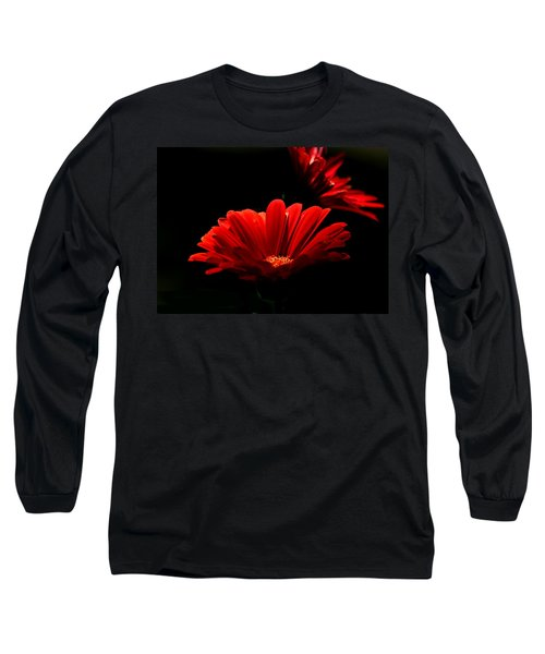 Coming In To The Light Long Sleeve T-Shirt by Sheila Brown