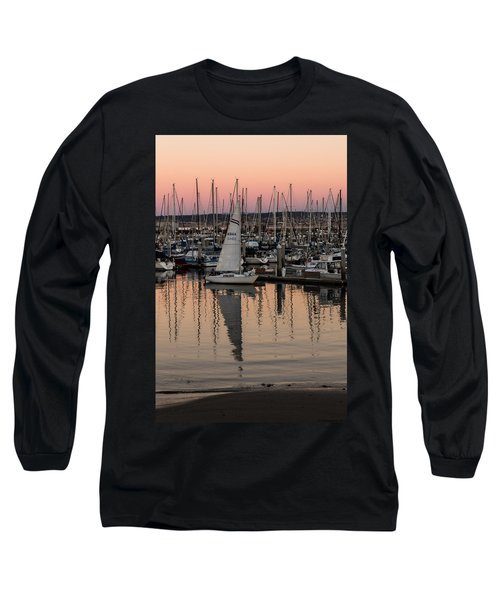 Coming Into The Harbor Long Sleeve T-Shirt