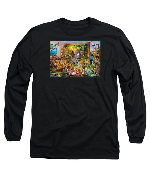 Coming To Room Long Sleeve T-Shirt