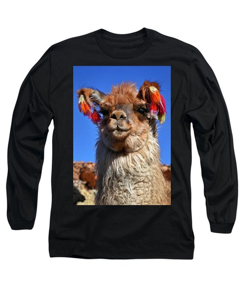 Long Sleeve T-Shirt featuring the photograph Como Se Llama by Skip Hunt