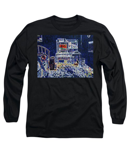 Computers And Wires Long Sleeve T-Shirt