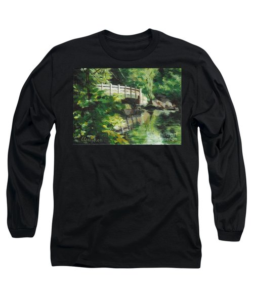 Concord River Bridge Long Sleeve T-Shirt