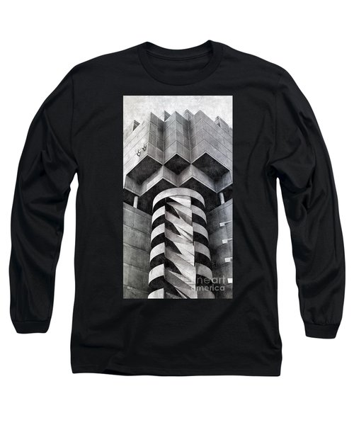 Concrete Geometry Long Sleeve T-Shirt by Paul Wilford
