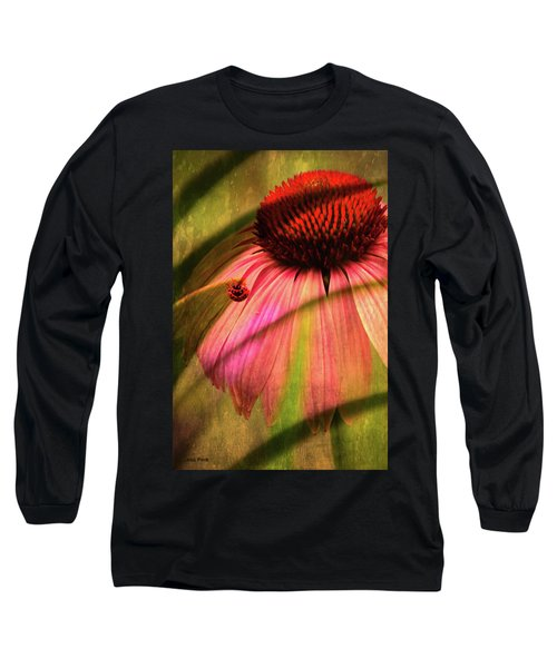 Cone Flower And The Ladybug Long Sleeve T-Shirt