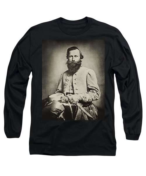Confederate Jeb Stuart Long Sleeve T-Shirt by Paul W Faust -  Impressions of Light
