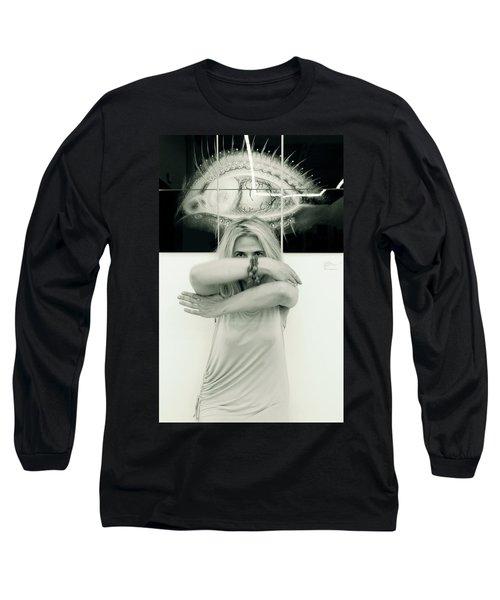 Contact Long Sleeve T-Shirt by Yelena Tylkina