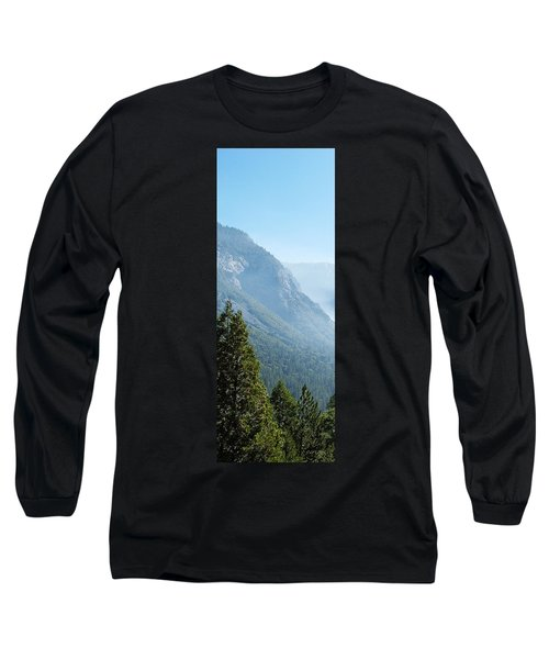 1 Of 4 Controlled Burn Of Yosemite Section Long Sleeve T-Shirt