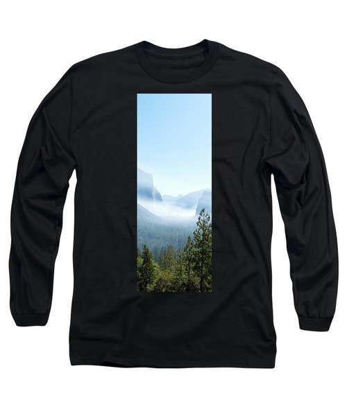 2 Of 4 Controlled Burn Of Yosemite Section Long Sleeve T-Shirt