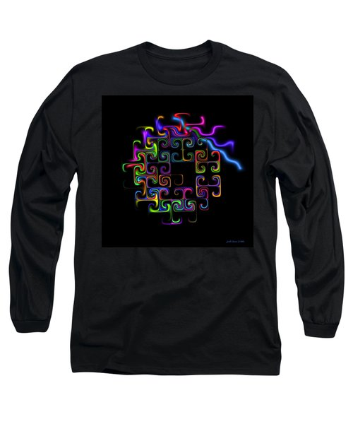 Long Sleeve T-Shirt featuring the digital art Conundrum by Judi Suni Hall