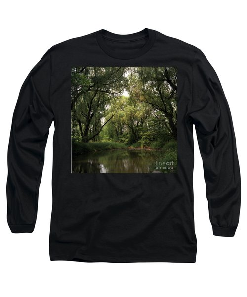 Cook County Forest Preserve No 6 Long Sleeve T-Shirt by Kathy McClure
