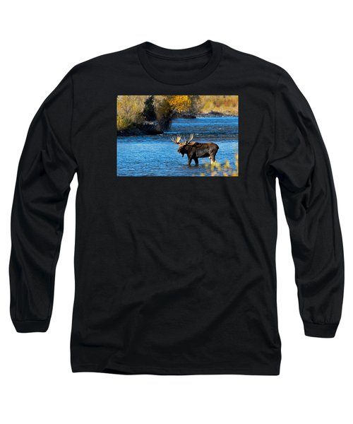 Cool Moose Long Sleeve T-Shirt