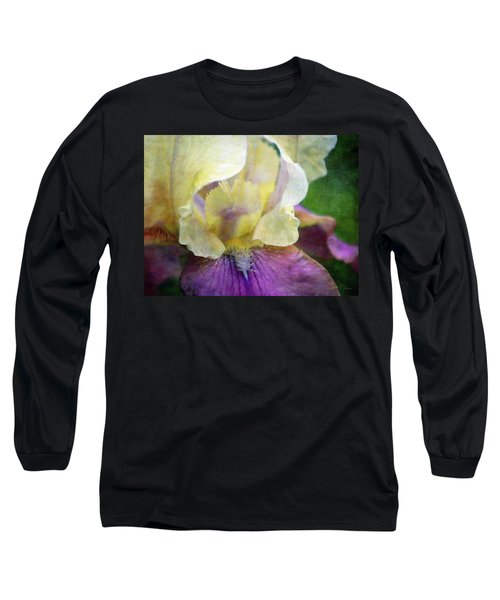Cool Toned Purple Iris 0319 Idp_3 Long Sleeve T-Shirt