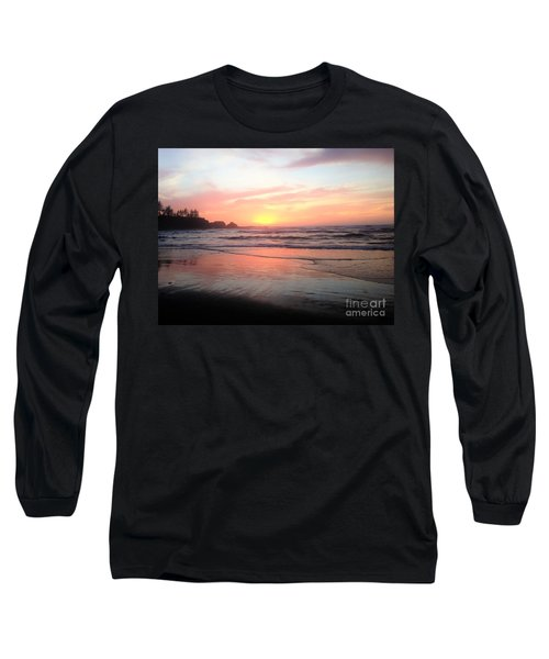 Coos Bay Long Sleeve T-Shirt by Linda Shackelford