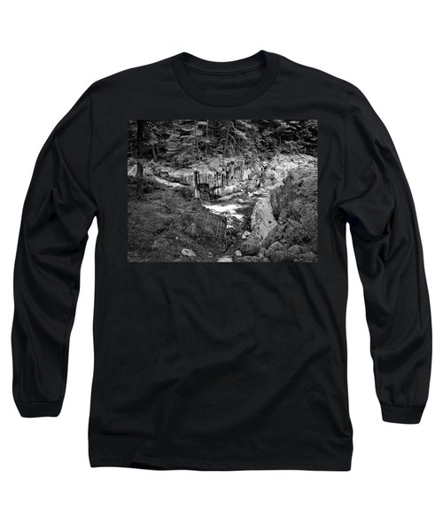Long Sleeve T-Shirt featuring the photograph Coos Canyon 1553 by Guy Whiteley