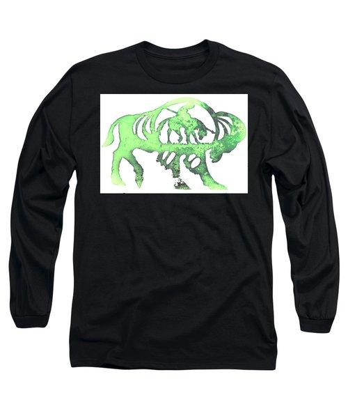 Copper Buffalo Long Sleeve T-Shirt