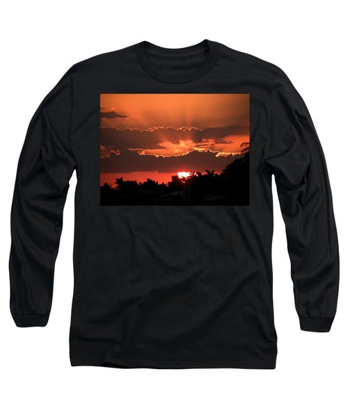 Copper Sunset Long Sleeve T-Shirt