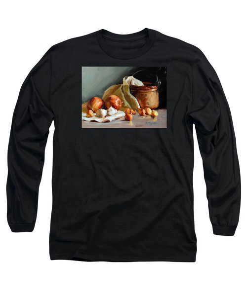 Copper Vessel And Onions Long Sleeve T-Shirt