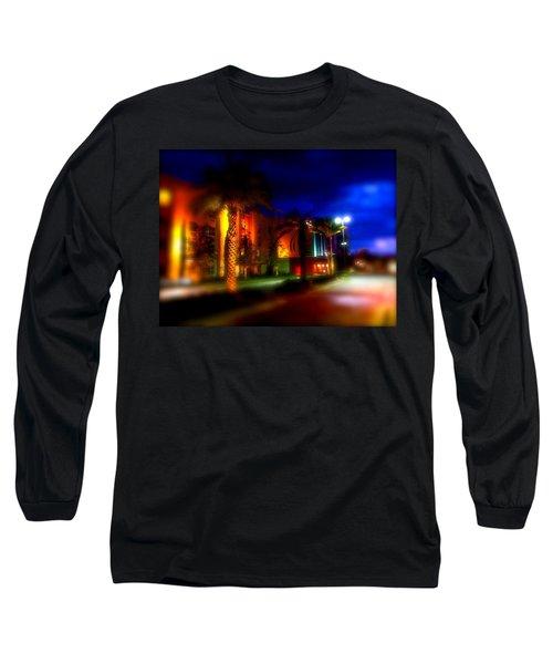 Coral Color Florida Long Sleeve T-Shirt