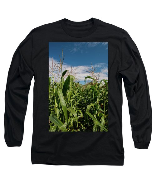 Long Sleeve T-Shirt featuring the photograph Corn 2287 by Guy Whiteley