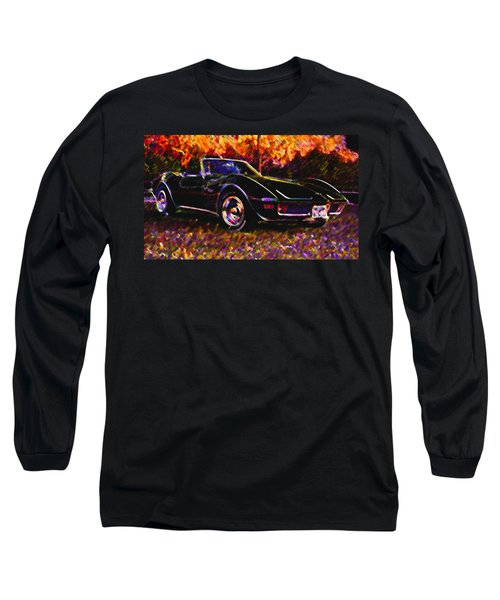 Corvette Beauty Long Sleeve T-Shirt by Stephen Anderson