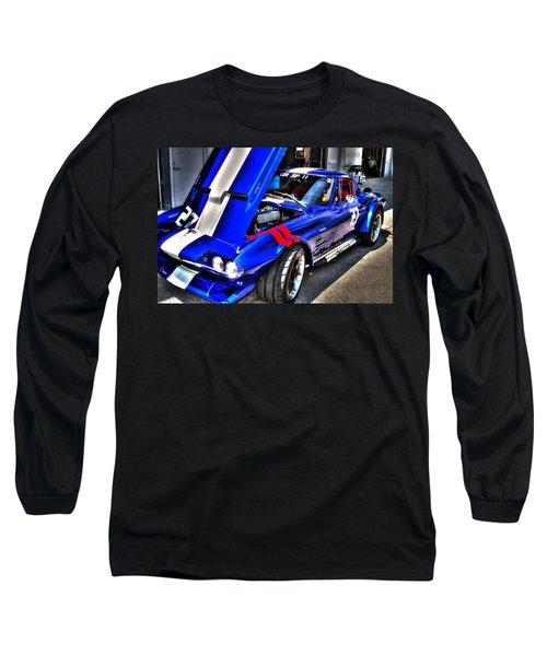 Corvette Long Sleeve T-Shirt by Josh Williams