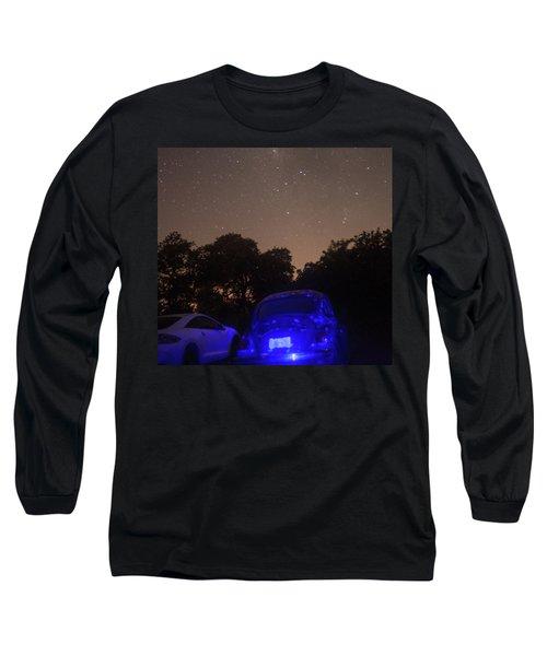 Cosmic Beetle 7 Long Sleeve T-Shirt by Carolina Liechtenstein