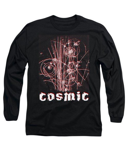 Cosmic Bubbles Long Sleeve T-Shirt by Robert G Kernodle