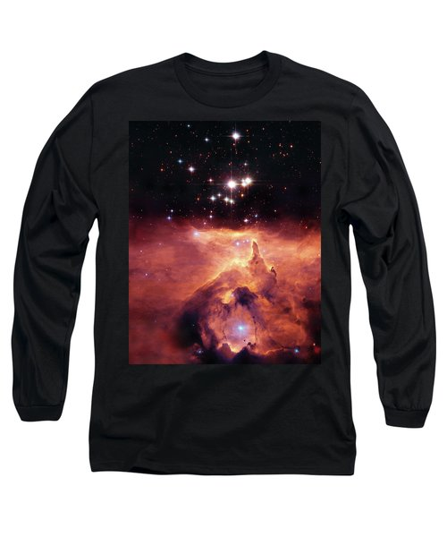 Cosmic Cave Long Sleeve T-Shirt by Jennifer Rondinelli Reilly - Fine Art Photography