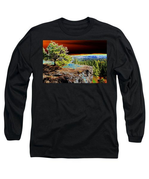 Cosmic Spokane Rimrock Long Sleeve T-Shirt