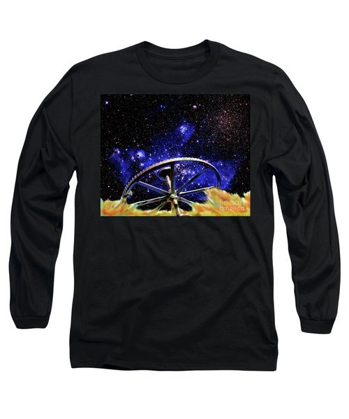 Long Sleeve T-Shirt featuring the photograph Cosmic Wheel by Jim and Emily Bush