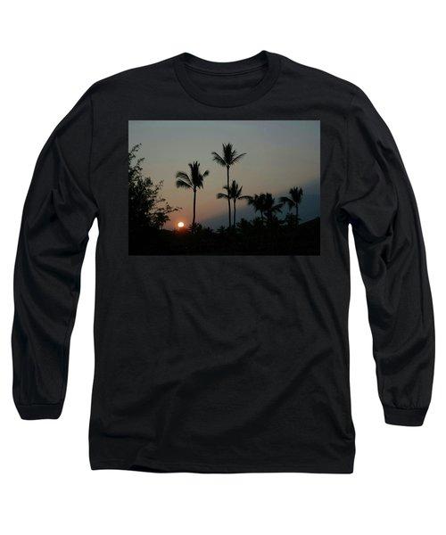 Costa Rican Mountain Sunset Long Sleeve T-Shirt