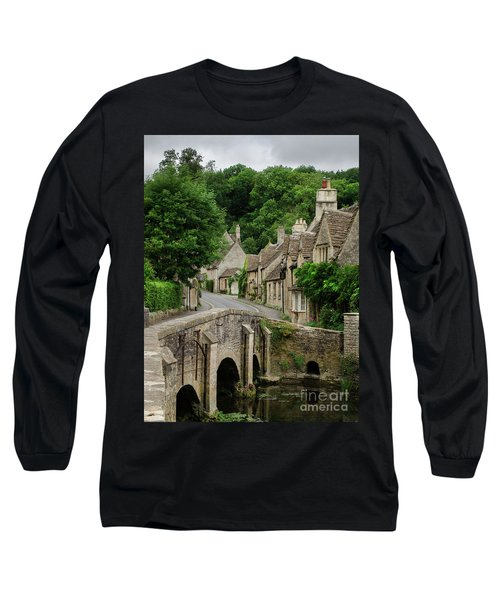 Cotswolds Village Castle Combe Long Sleeve T-Shirt