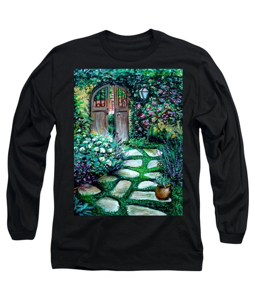 Cottage Gates Long Sleeve T-Shirt