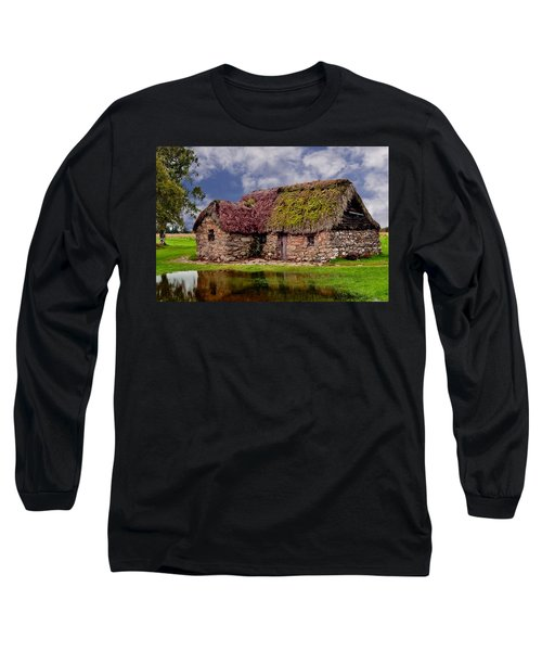 Cottage In The Highlands Long Sleeve T-Shirt