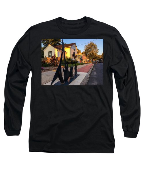 Cottage Street Guitars Long Sleeve T-Shirt
