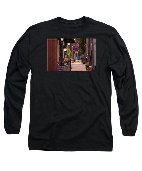 Cottage Street Stroll Long Sleeve T-Shirt